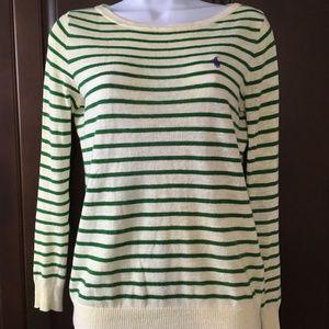 Ralph Lauren Striped Crewneck Sweater-S